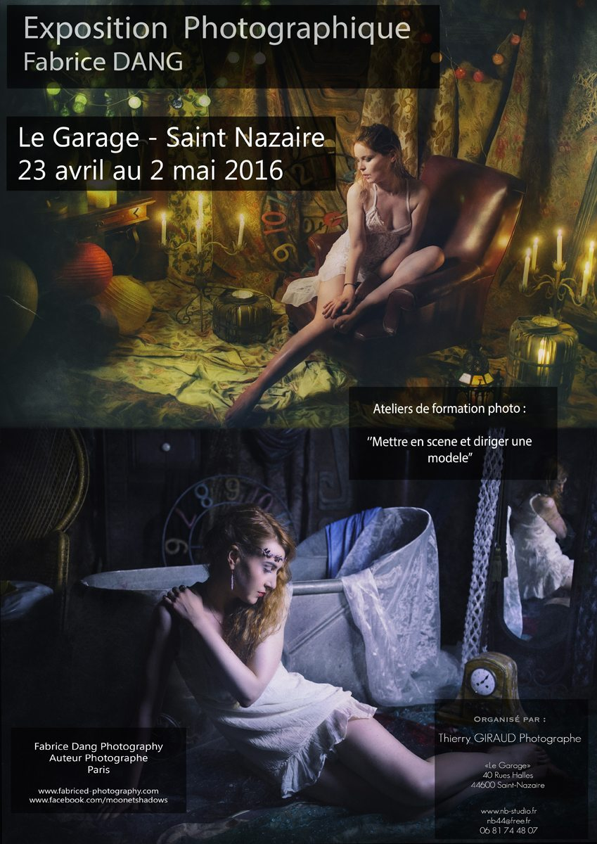 21 23 Avril Au 2 Mai 2016 Expo Photo Fabrice Dang Le Garage