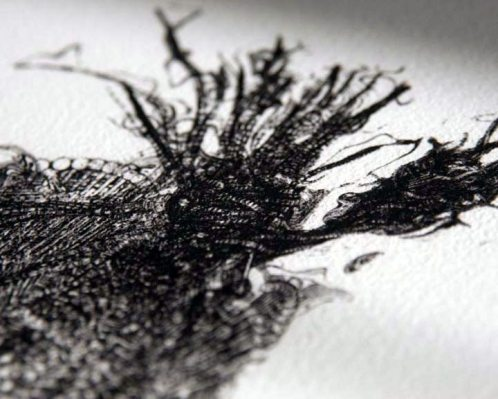 David Cragné   Neverborn Thought IV. (detail)