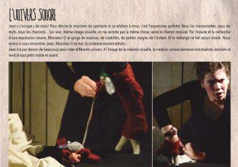 Monsieur O   Spectacle Musical de Marionnettes à doigts