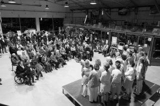 (c) Thierry Giraud | La chorale LES QU'ONT PAS D'NOM DE LA CHANSON de Delphine Coutant – organisé par école Chrysalide à Saint-Nazaire