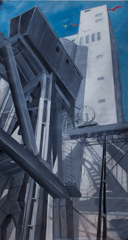 Vente aux enchères au Garage / Artiste: Juan Leon Marquez