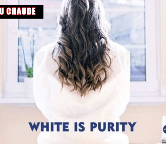 Le Gars de la Pub - Nivea bad buzz white is purity slogan aussi