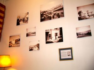 Exhibit of glass negative images of Tangier International Zone (opened May 2014)