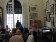 Fatima Ben Guerch (speaking) and Yhtimad Bouziane