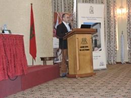 Soufiane Bouhdiba presenting
