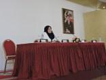 Selma Mokrani Barkaoui presenting