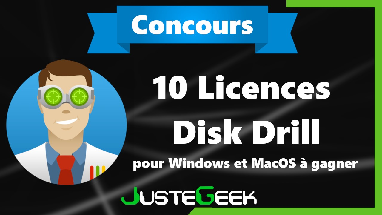 Concours Disk Drill Pro