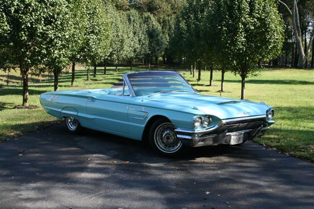 1965 Ford Thunderbird Convertible   Information on collecting cars     1965 Ford Thunderbird Convertible