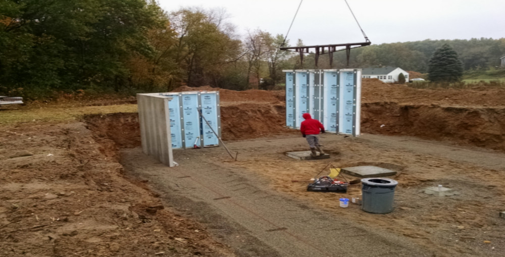 insulated pre cast basements by legendary homes on Precast Basement Walls id=72926