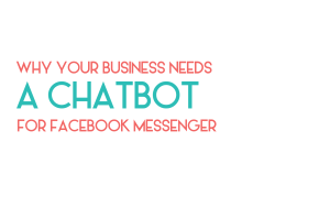 Should you set up a Chatbot for your social media?