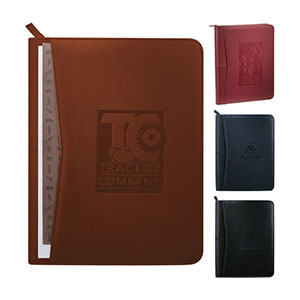 Custom merchandise with leather journals