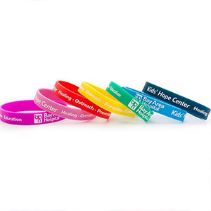 Silicon Bracelets and Wrist Bands