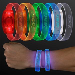 Custom Branded Glowing bracelets