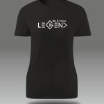 Legend Element Handprinted Women's T-Shirt | Be Fckn Legend