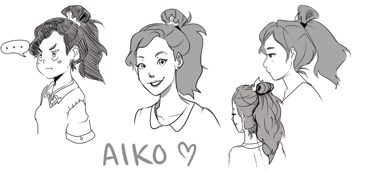 Aiko Doodles Old