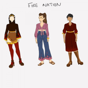 FIre Nation Fashion Concepts Cam