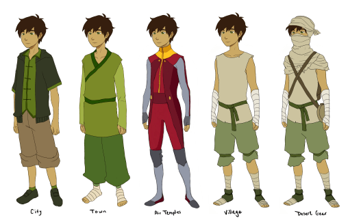 Genji Clothing Lineup Old
