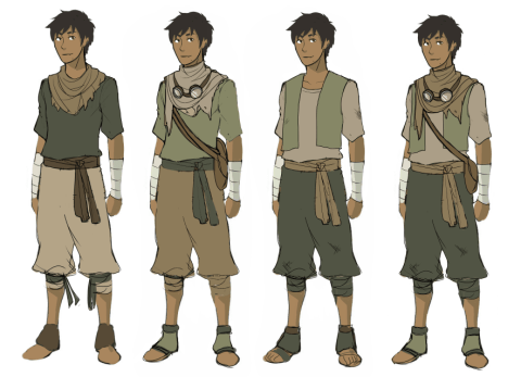 Genji Desert Outfit Concepts Macky