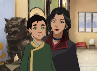 Asami and Little Luan