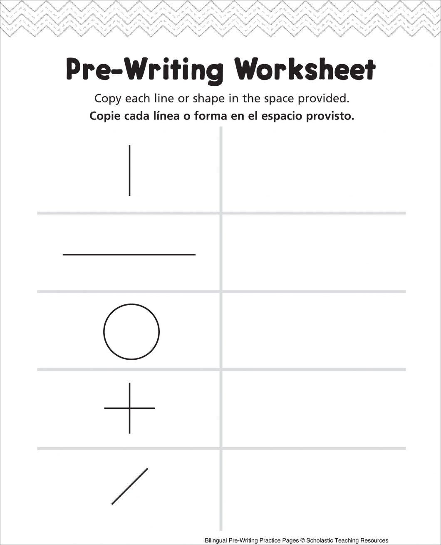 Bilingual Worksheets Printable