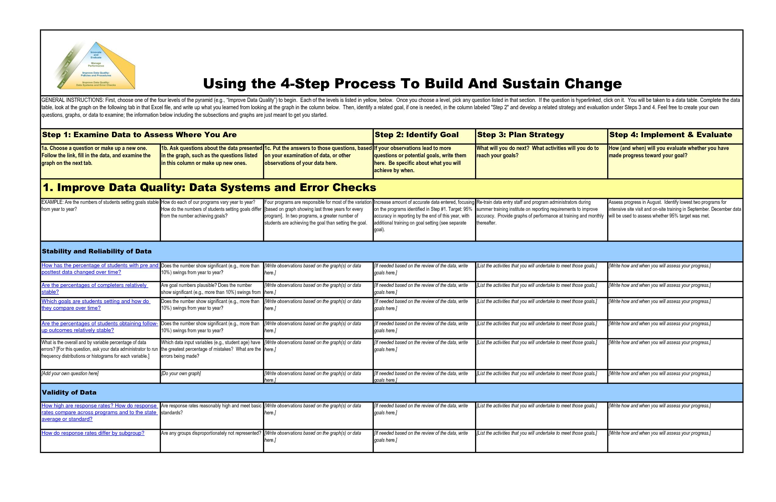 Printable Aa Step Worksheets
