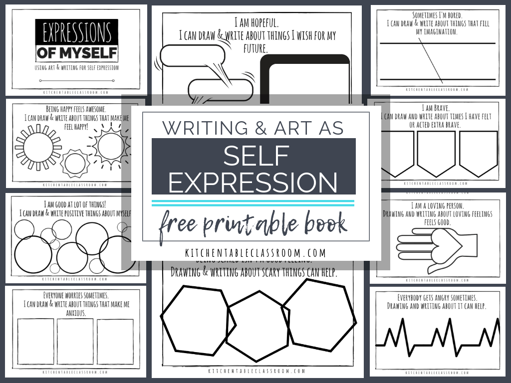 Self Esteem Printable Worksheets For Kids