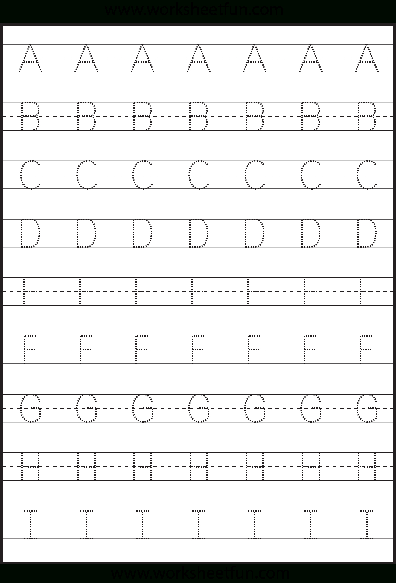 Capital Letters Printable Worksheets