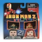 Iron Man 2 C2E2 Exclusive Minimates Front