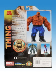 Marvel Select Thing Package Back