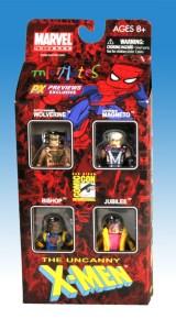 X-Men Previews Exclusive Miniimates Front