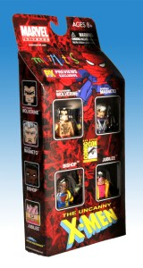 X-Men Previews Exclusive Miniimates Side