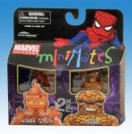 Marvel Minimates TRU Wave 8 Human Torch and The Thing Front