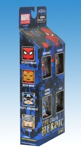 The Heroic Age Marvel Minimates Box Set Side