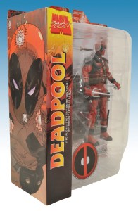 Marvel Select Deadpool Package Side