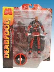 Marvel Select Deadpool Unmasked Variant