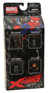Uncanny X-Force Minimates Box Set Front