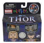 Toys R Us Thor Minimates Civilian Thor and Asgardian Guard Exclusive