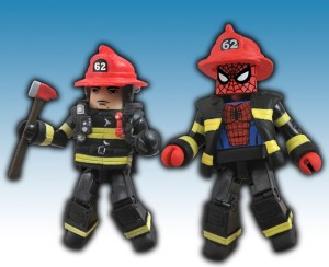 NYCC 2011 Spider-Man Firefighter 2 Pack Exclusive
