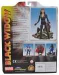 Disney Store Exclusive Marvel Select Black Widow Back