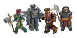 Marvel Minimates Fear Itself The Worthy Box Set