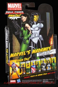 The Return of Marvel Legends Madame Masque Package Rear