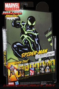 The Return of Marvel Legends Wave Two Spider-Man Package Rear