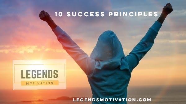 10 principles of success