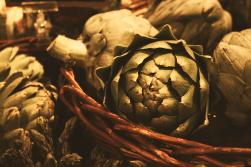 Kitchen Still Life: Artichoke