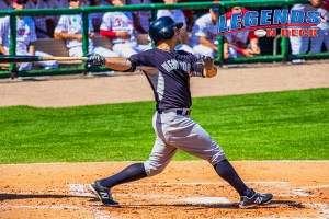 Brett Gardner continues to show his offensive dominance for the Yankees. (Gabe Rodriguez)