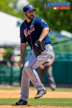 Michael Fulmer making a start for the Double-A Binghamton Mets on July 22, 2015. (Photo by Gabe Rodriguez/LOD)