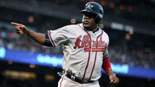 The Atlanta Braves traded third baseman Juan Uribe along with Kelly Johnson, to the New York Mets on Friday.  (NYsportshub.com)