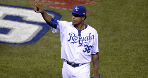 Edinson Volquez - Photo John Rieger, USA TODAY Sports