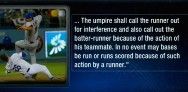 MLB Rule - SNY -1