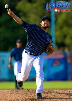 Syracuse Chiefs' RHP Taylor Hill. (Photo: Gabe Rodriguez)